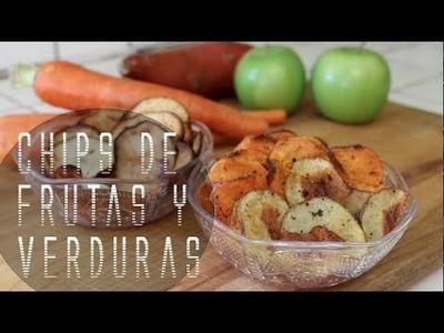 CHIPS DE FRUTAS Y VERDURAS!