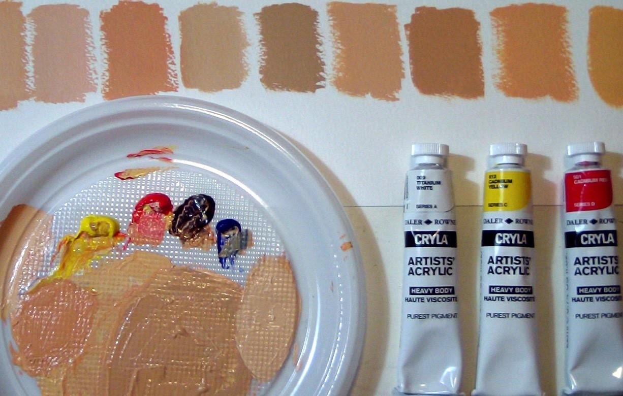 CINCUENTA TONOS DE.  PIEL! Como crear el color de la piel - TODO sobre el COLOR by ART Tv