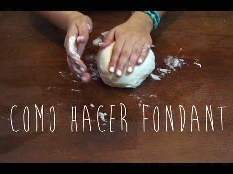 COMO HACER FONDANT (CASERO Y FÁCIL) - BAKING DAY