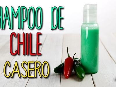 ¿Cómo hacer? Shampoo de Chile Casero - Crecer Cabello Rápido - Cuidado del Pelo