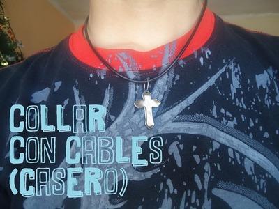 Como Hacer Un Collar Con Cables - Manualidades