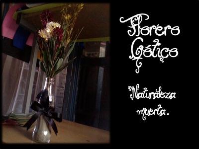 ¿Como hacer un florero Gótico? - Scarlet Bloody Tutoriales