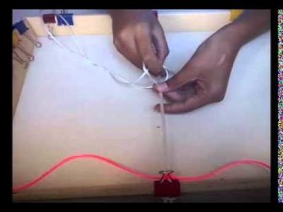 Cómo hacer una pulsera con hilos de cola de ratón