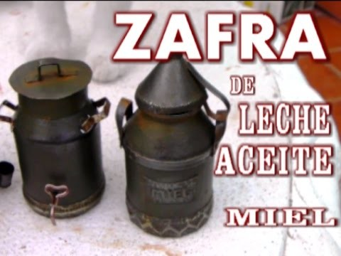 COMO HACER UNA ZAFRA O CANTARA DE ACEITE, MIEL, O LECHE - HOW TO MAKE MINIATURE PITCHER