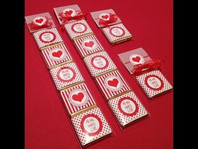 Cómo personalizar chocolatinas para decoración de fiestas. Tutorial fácil