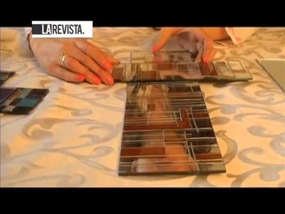 Cómo realizar la técnica de vitral sobre un espejo