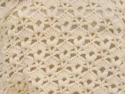 Como Tejer Jersey Calado Manga Corta a Crochet