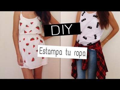 DIY: Estampa tu ropa