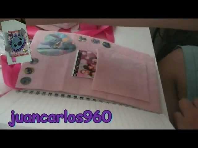 Manualidades: cómo decorar tu cuaderno o diario - Juancarlos960