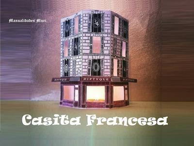 Manualidades, Construir una Casa de muñecas Francesa para Velas.