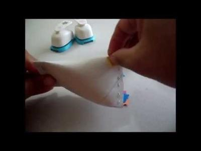 Maracas hechas de tubo de papel higenico