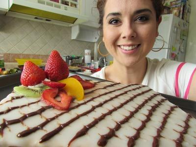 Pastel MIL HOJAS receta fácil