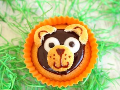 Receta: Cupcakes de ositos -- Infantil