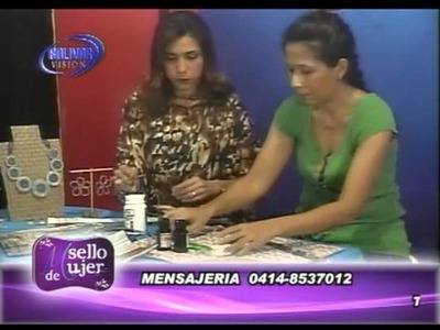 SELLO DE MUJER CARTERA DE PAPEL PERIODICO