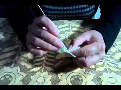 """""""Zapatitos Para Bebe A Crochet"""" #1 De #3"""