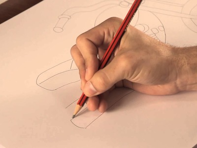 Cómo dibujar una motocicleta : Tips de dibujo