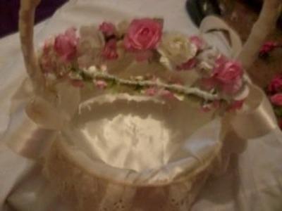 Como hacer una corona con flores