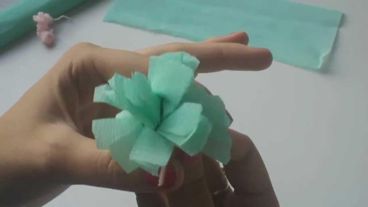 Cómo hacer una flor de papel |facilisimo.com