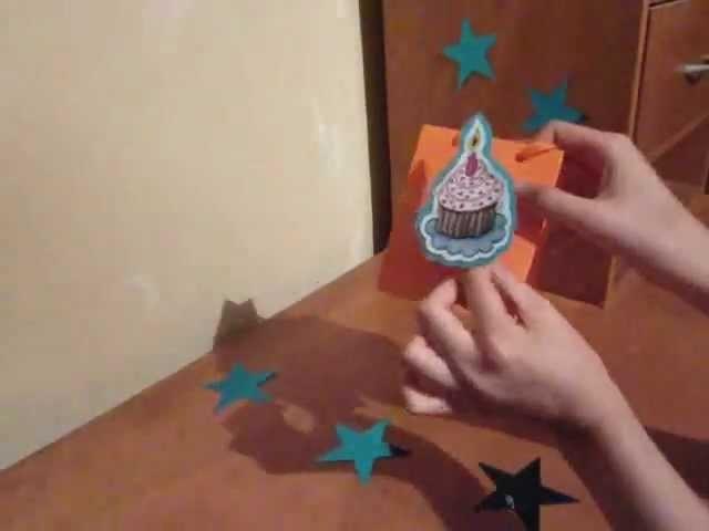 Como hacer una mini bolsa de regalo 3D