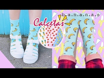DIY: Calcetas de Frutas | Fruit Socks