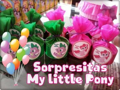 DIY Sorpresitas My little Pony. Novedadesconkatherine ♥