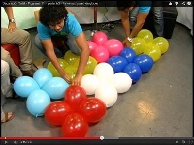 Funvirisa. pared de globos - Programa 11 -  parte 2.3