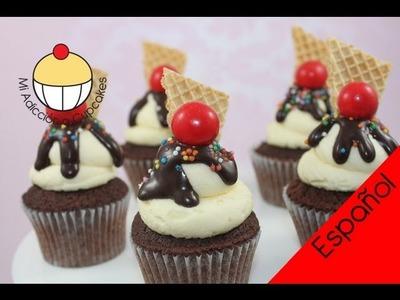 Haz un Glaseado de Crema de Mantequilla Perfecto Para Mangas Pasteleras - MiAdiccionaCupcakes