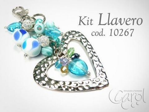 KIT 10267 Kit Llavero IG corazon martillado