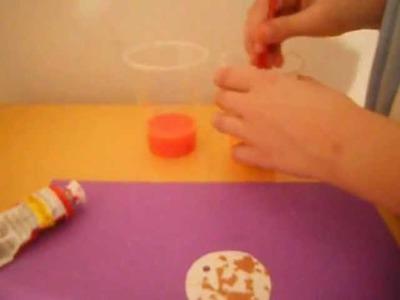 Manualidades:Collar hecho con cascara de huevo