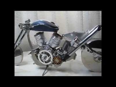 Reciclar mi ordenador y convertirlo en moto custom
