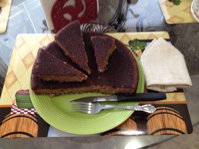 TORTA CON PLATANO MADURO - Torta Cake - Un bocado de Reina-2015