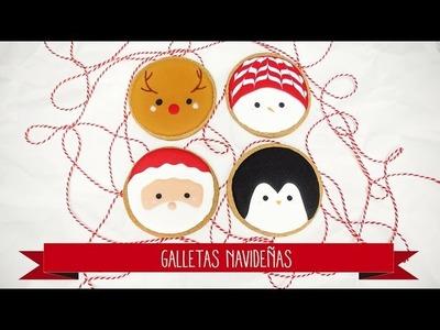 4 formas fáciles de decorar galletas navideñas con royal icing