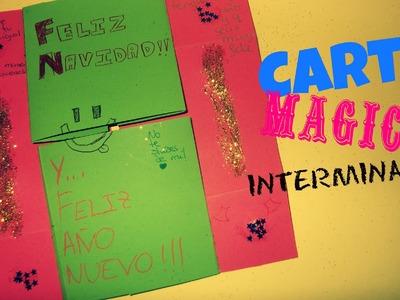 Carta mágica o interminable [Detalle de Navidad. amigo invisible]