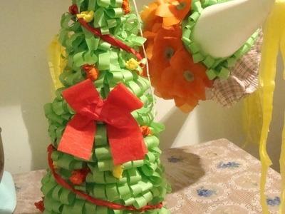 Como decorar una piñata parte 2.2