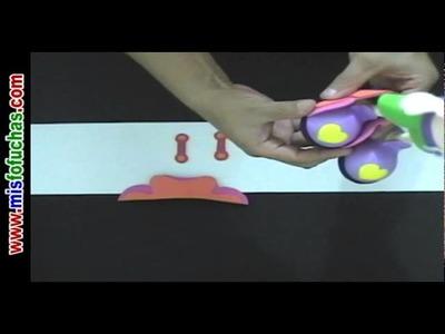 Cómo hacer muñeca Fofucha patinadora en Foamy Goma eva en Patines Parte 4