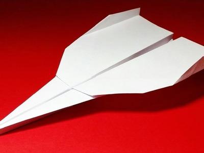 Como hacer un Avion de Papel - Aviones de Papel - Avion de Papel que Vuela Mucho | Grey