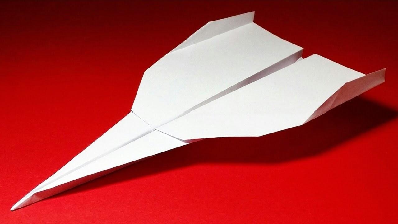 Como hacer un Avion de Papel - Aviones de Papel - Avion de Papel que Vuela Mucho   Grey