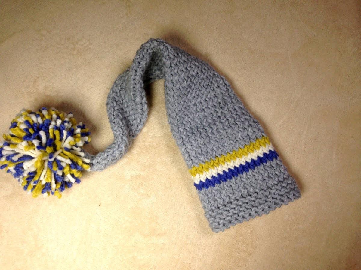 Cómo tejer en telar un gorro tipo duende para bebé (Tutorial DIY)