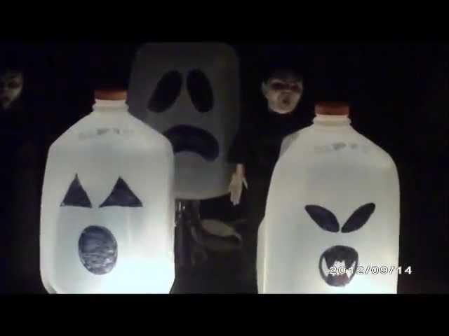 Decoraciones para Halloween.Dia de Los Muertos caseras