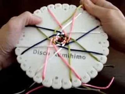 KUMIHIMO XXIX:CORDÓN HUECO TRENZADO EN CESTA CON 16 HILOS