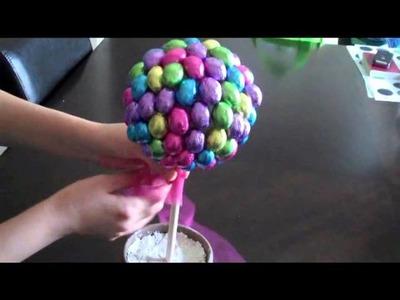 Manualidades - Como Hacer un Arbol de Pascua