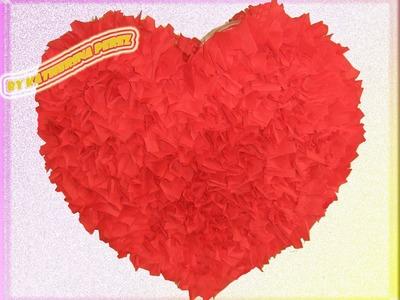 PINATA CORAZON . HEART PINATA