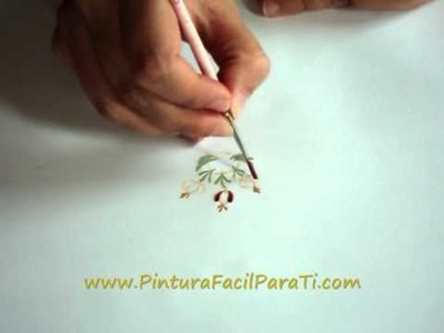 Pintura Flores Hindeloopen Pintura Facil Para Ti