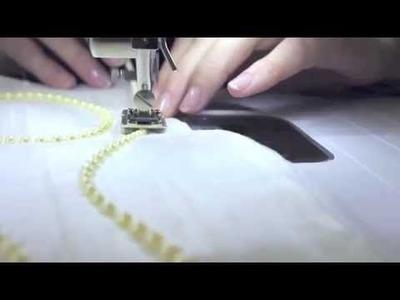 PRENSATELAS Nº12: Para aplicar cordones, perlas y hacer ribetes.