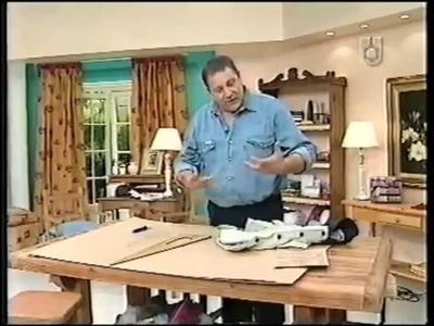 Puntos y Puntadas 33. Parte 1. Cómo hacer el molde de una prenda hecha. Moldería. Hermenegildo.