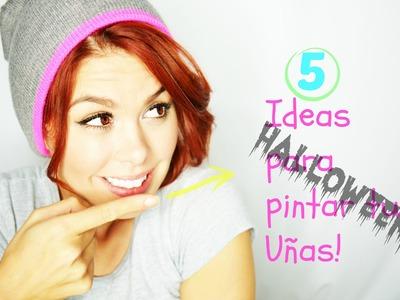 Uñas para Halloween!(5 Ideas)Mon♥
