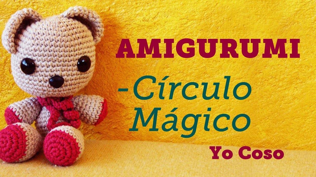 Amigurumi: Tejer el Círculo.Anillo Mágico - Bichus