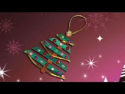 Árbol de Navidad, manualidades de adornos para la Navidad