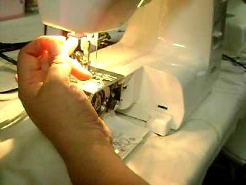 Clases de corte y confeccion(Como usar el hilo elastico #2)