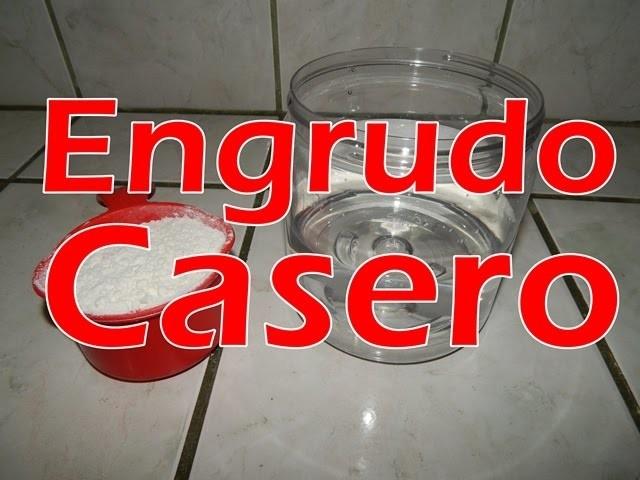"""Como hacer Engrudo para tu Piñata – Engrudo Casero """"homemade glue"""""""